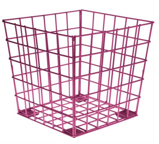 Wire Cube - Fuchsia
