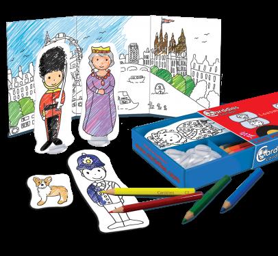 Carddies Set - London