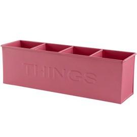 Pink Things Desk Storage Bin for Kids
