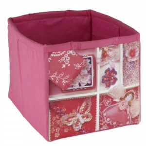 Fabric Storage Tote - Fairy