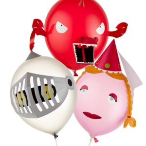 Airhead Fairytale Balloons - Pack of 6