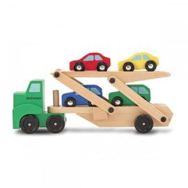 Car Carrier Pretend Play for Kids Melissa and Doug