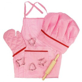 Little Chef's Set - Pink