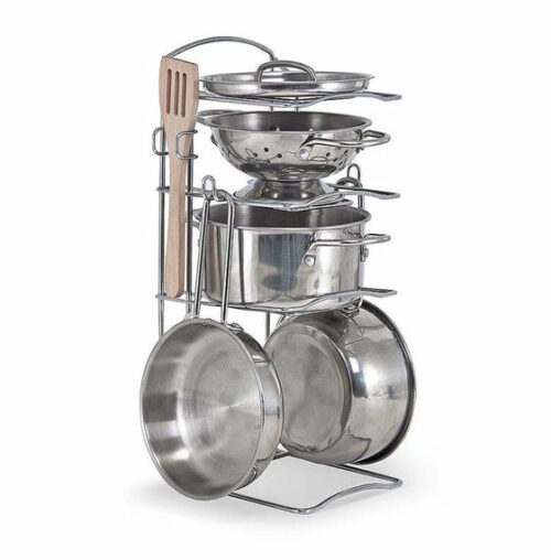 Pots & Pans Set - Stainless Steel