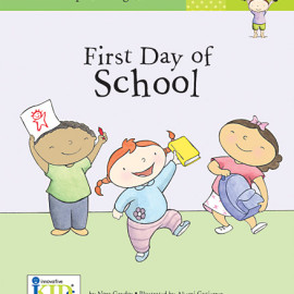 First Day of School Book for Kids