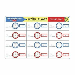 Write-A-Mat Telling Time