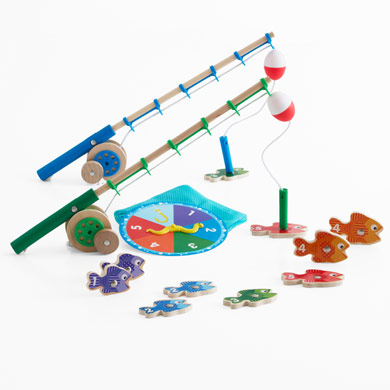 Catch count fishing game for children kids in s a for Catch and count fishing game