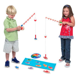 Catch and Count Fishing Game for Kids Toys Melissa & Doug