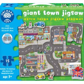 Giant Town Jigsaw Games and Puzzles for Kids Orchard Toys