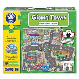Giant Town Jigsaw Puzzle for Kids Children Games Orchard Toys