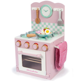 Honeybake Oven and Hob Set, Pink Pretend Play for Kids