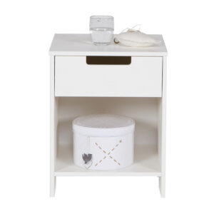 Jade Nightstand - White