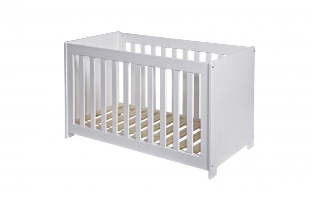 New Life Cot Solid White