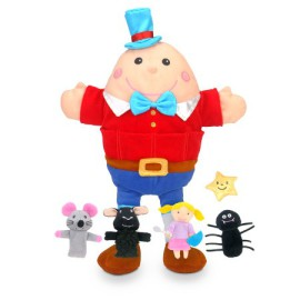 Nursery Rhyme Tell a Tale Hand and Finger Puppets Pretend Play for Kids