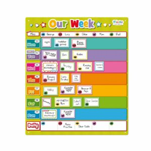 Magnetic Our Week Planner Chart