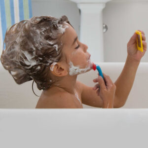 Shaving In The Tub Set
