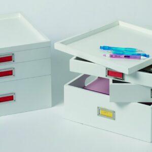 Swivel Art Organiser - White
