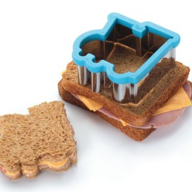 Train Sandwich Cutter Lunchbox Children Meals on the Go