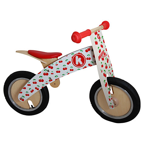 Cherry Kurve Balance Bike by Kiddimoto Ride Ons for Kids Fun Outdoor ...