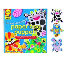 Paper Bag Puppets Arts and Crafts for Kids Alex