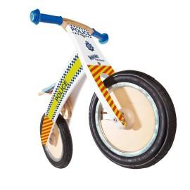 Police Kurve Balance Bike by Kiddimoto Ride Ons for Kids Outdoor Fun