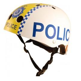 Police Safety Helmet for Kids Bikes, Ride Ons Skating
