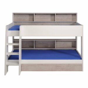 Taylor Bunk Bed with drawer - White