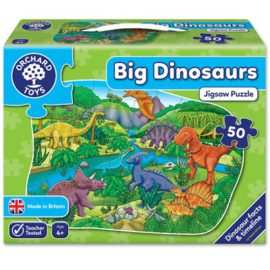 Big Dinosaur Jigsaw Puzzle for Kids Children Games Orchard Toys