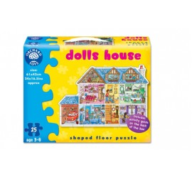 Dolls House Giant Floor Puzzle by Orchard Toys Games for Children
