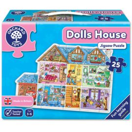 Dolls House Jigsaw Puzzle for Kids Children Games Orchard Toys