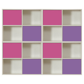 Modular Storage System 4 unit combination for Children by Stompa