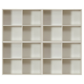 Modular Storage System 4 unit combination for Childrens playrooms or bedrooms by Stompa