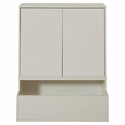 Large Doors (pack of 2) for Bookcase - White by STOMPA