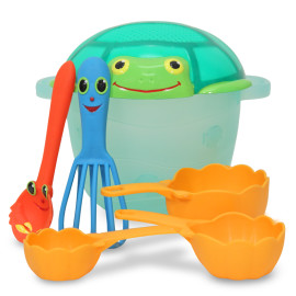 Seaside Sidekick Sand Baking Set for Kids Unique Sands Toy for beach or sandpit