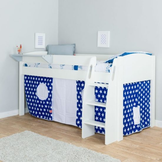 UNO S Mid Sleeper Bed with Tent by STOMPA