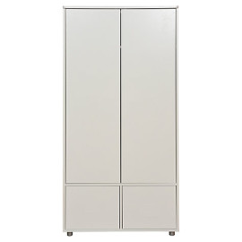Tall Wardrobe for Children Storage by Stompa, White