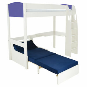 UNO S High Sleeper (coloured headboards), Desk & Chair Bed by STOMPA