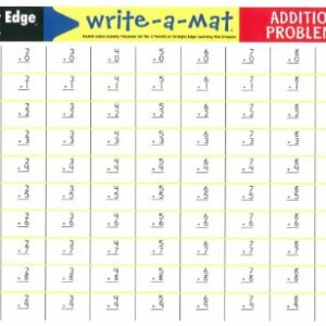 Write-A-Mat Addition Problems