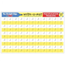 Write-a-mat multiplication problems fun learning for kids
