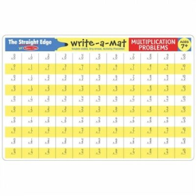 Write-A-Mat Multiplication Problems