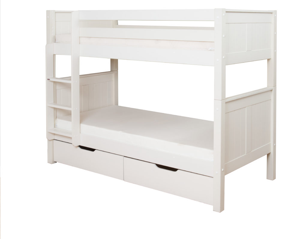 bunk bed with dresser classic bunk bed with underbed drawers by stompa 14672