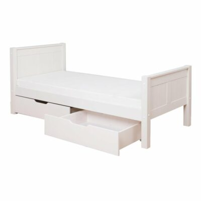 Classic Single Bed with Underbed Drawers by STOMPA