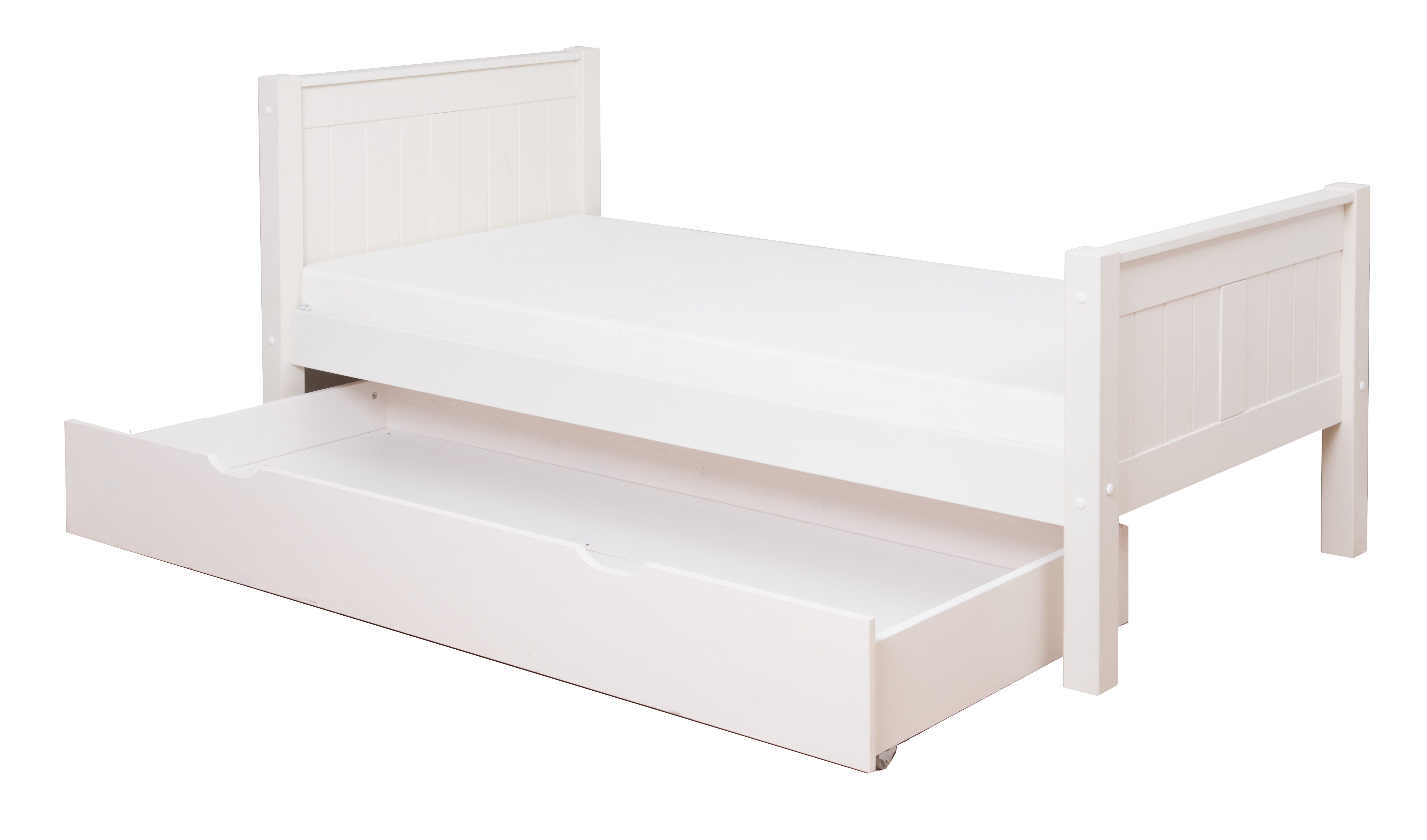 Underbedtrundledrawer Clic Single Bed With Trundle By Stompa