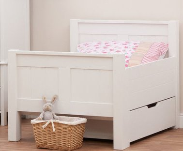 Classic starter toddler bed mattress drawerby stompa for Starter bed