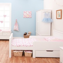 Extending Starter Bed for Toddlers by Stompa