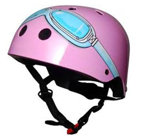 Pink Goggle Helmet (Small)