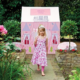 Kids Girls Large Princess Castle Play Tent, Pink Toys and Games
