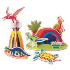 Rub-a-Dub Dinosaur Island in my Tub Bath Toys for Kids