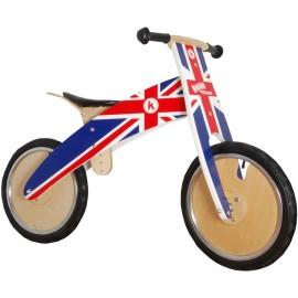 Union Jack Kurve Balance Bike Kiddimoto Ride Ons for Kids