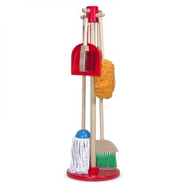 Lets Play House Dust Sweep Mop Toys and Game for Children Pretend Play Role